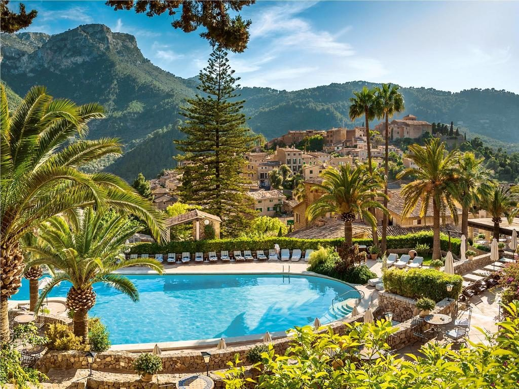 Deià May Be Just A Small Mountain Town On The Island But It Is Home To One Of Most Luxurious Hotels In Entire Region Surrounded By Lush Greenery