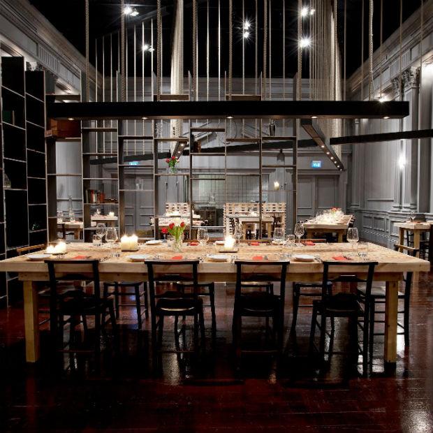 Steak Restaurant Interior