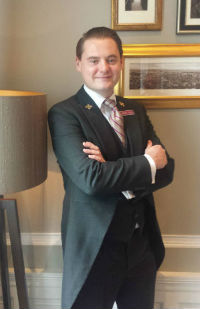 GAVIN STIRLING Head Conceirge at The Crown Plaza  Roxburghe  Hotel