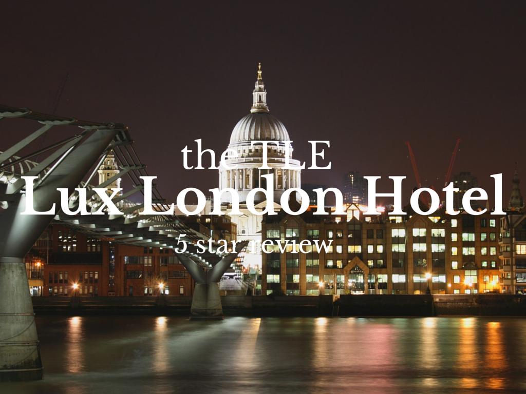 last minute five star hotel deals london