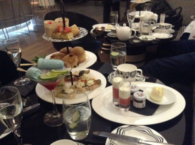 Afternoon Tea at G&V Hotel