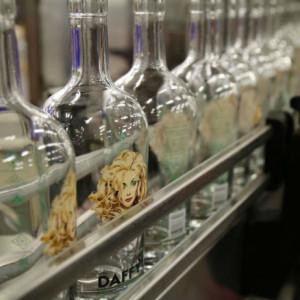 Daffys Gin Bottles
