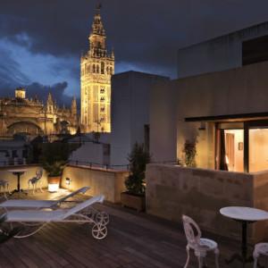 Roof Terrace View Casa 1800