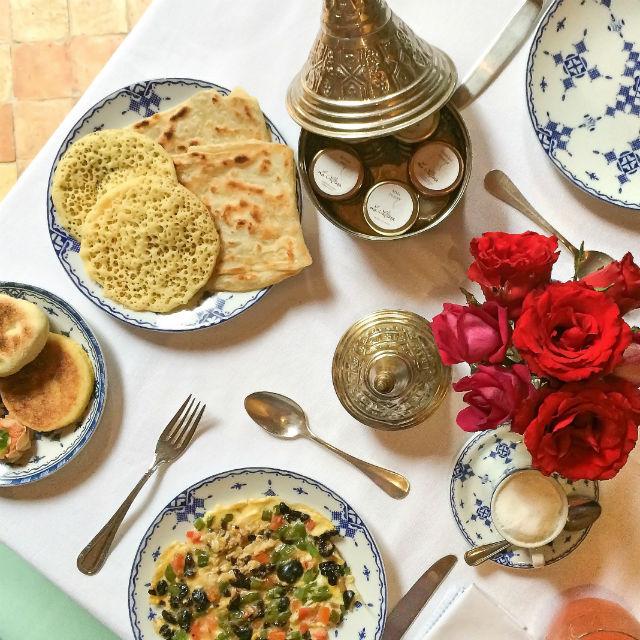 BREAKFAST - Berber inspired dishes 1