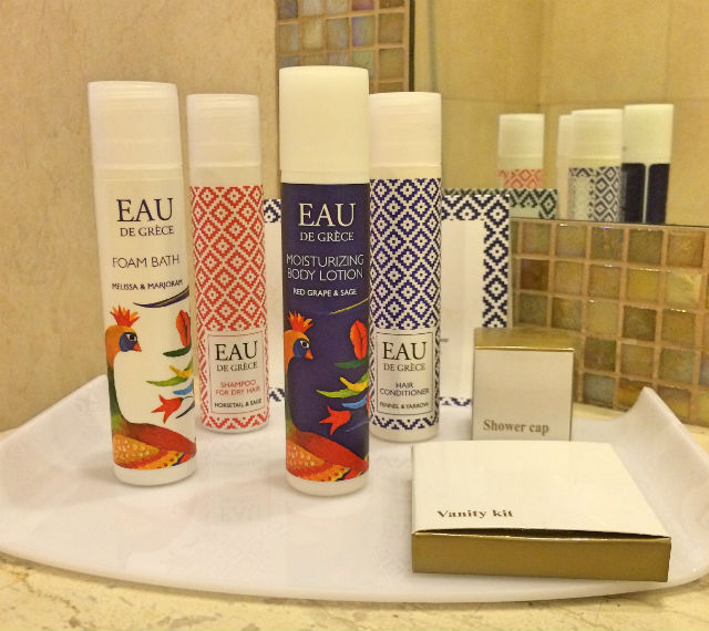 Pallas Athena Agreco toiletries 1