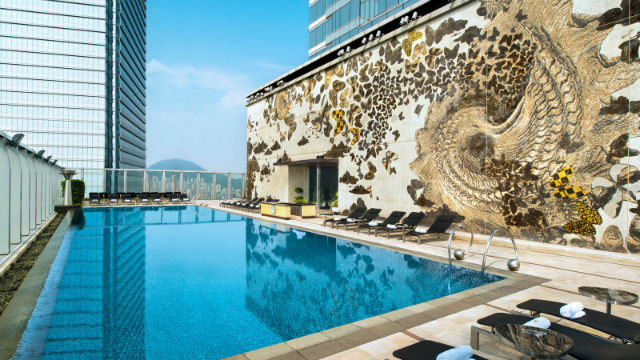 W hotel Hong Kong pool 1