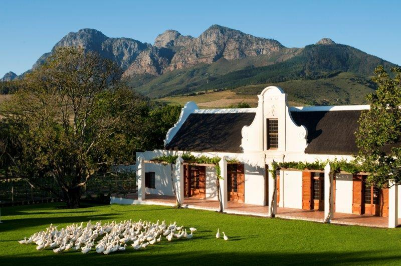 Experiencing babylonstoren a cape dutch farm south for Farm style houses south africa