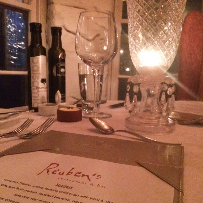 Abalone House Spa Dinner