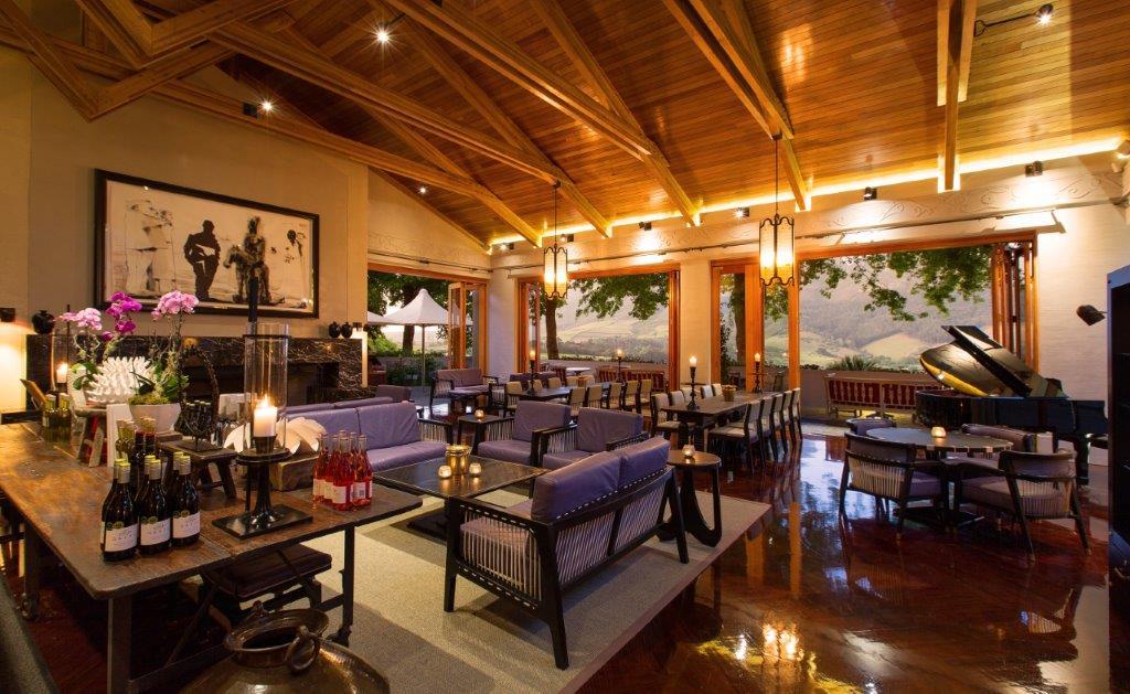 Delaire Graff Wine Lounge Interior