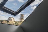 Views of Calton Hill Edinburgh from Rock House