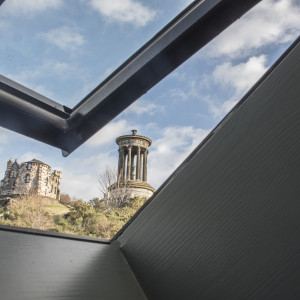 Views of Calton Hill Edinburgh from Rock House