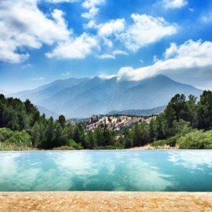 Pool at L'Amandier Hotel, Morocco