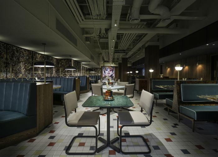 Cha Chaan Teng restaurant interior