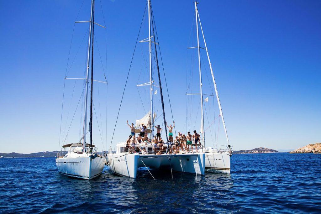 Yacht in Sardinia