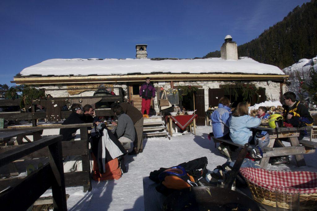 Belliou la Fumee restaurant in Les Arcs