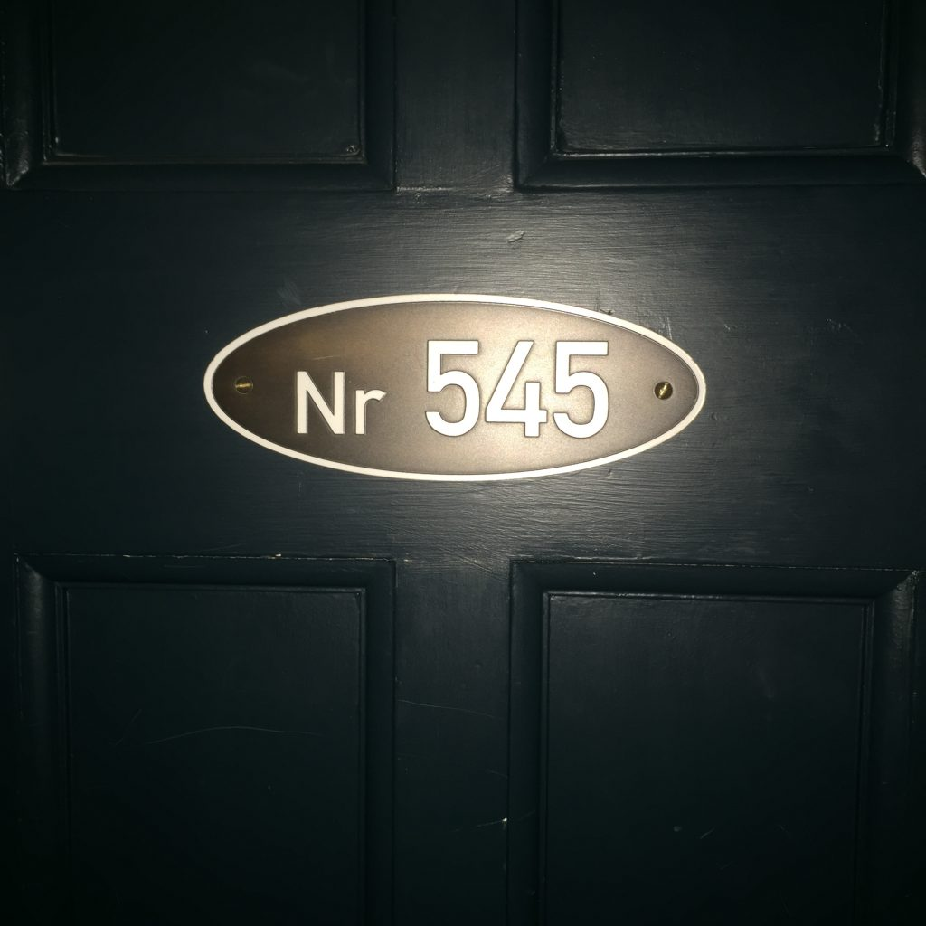 Door Number at The Grand Central
