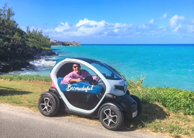 Exploring Bermuda With The Twizy Electric Car The Luxury
