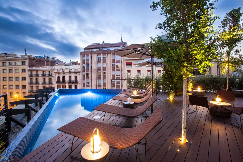 Rooms: Best Hotels With Rooftop Pools In Barcelona