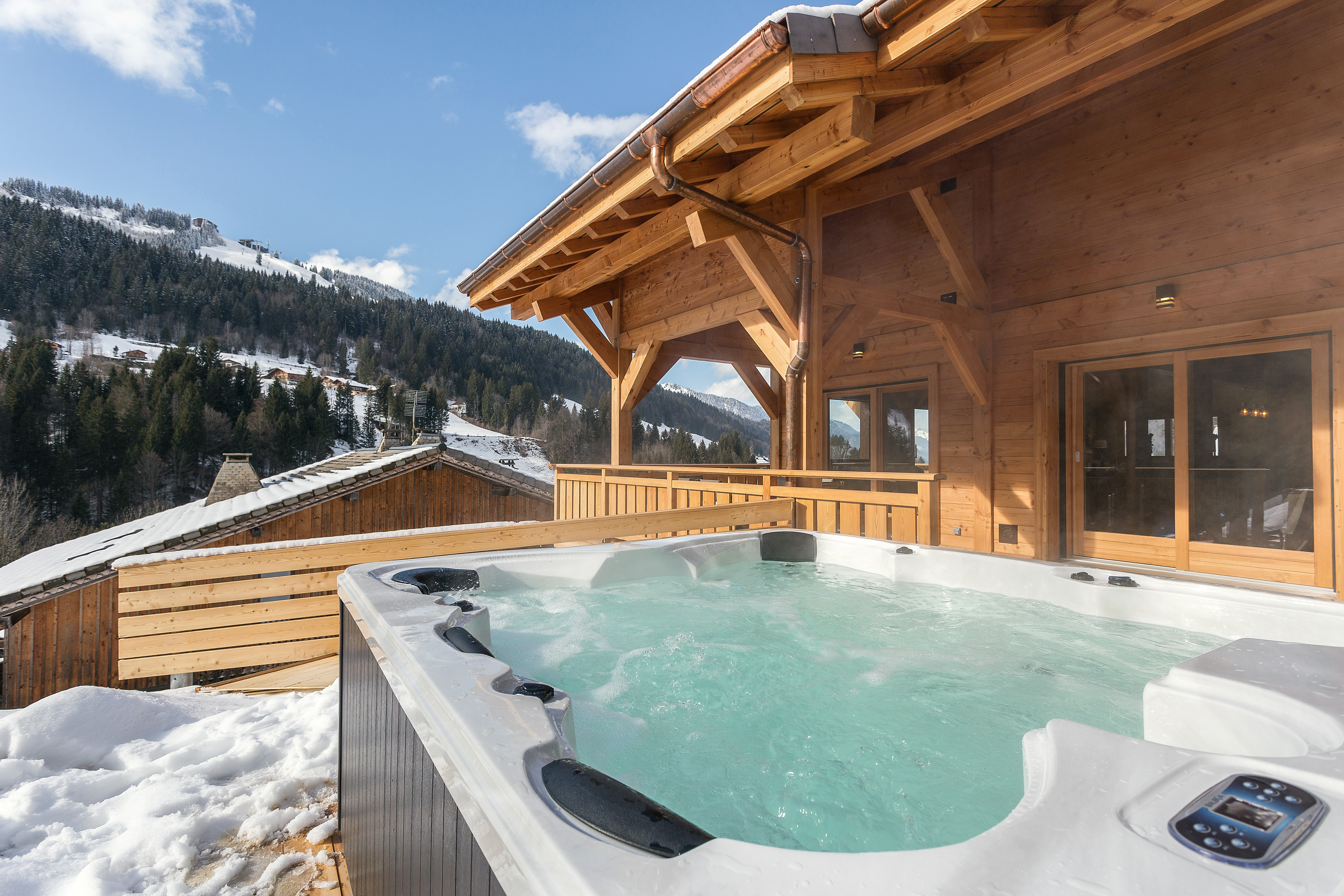 Luxury Ski Chalet Morzine  QA with More Mountain  The