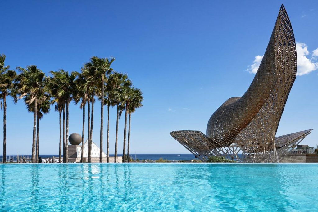 Best Hotels With Rooftop Pools In Barcelona