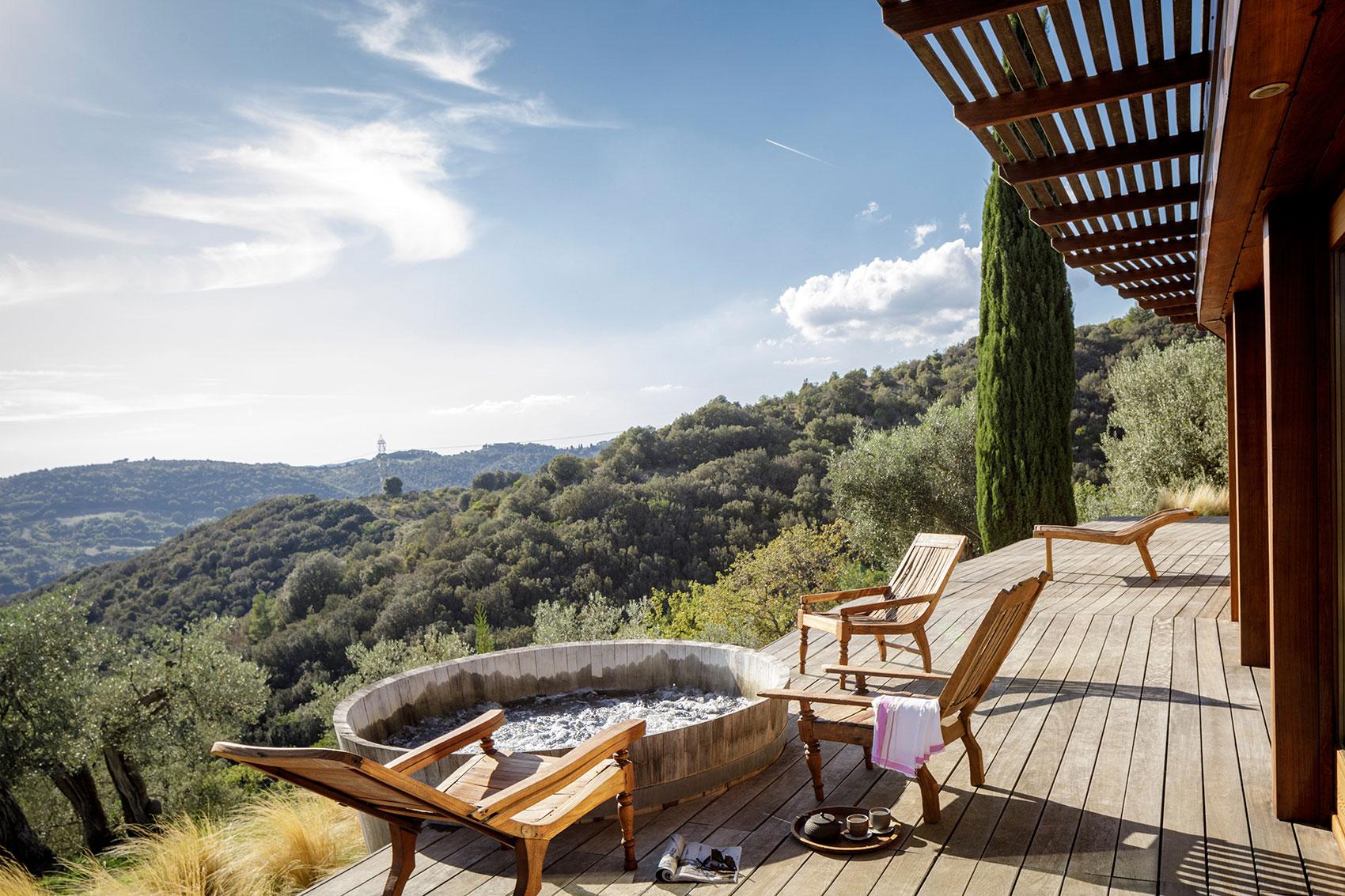 The New Spa Suite At Castello Di Vicarello Tuscany