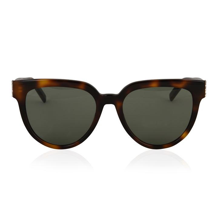 07b613dc88 Revamp your accessories collection this year with the M28 sunglasses from  Saint Laurent. Designed with a retro feel to them, this style features a  gorgeous ...