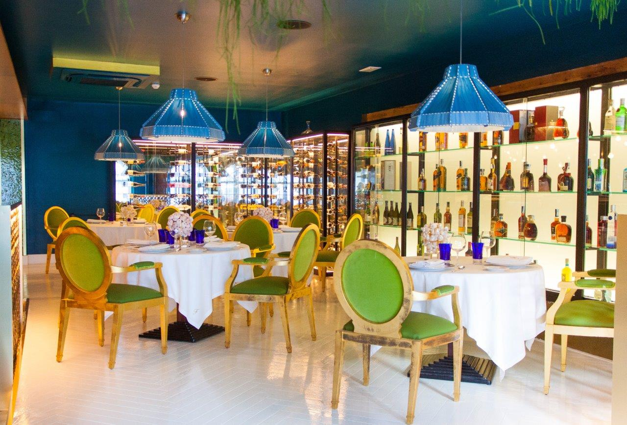 Gourmet Mediterranean cuisine, and stylish sushi bar Restaurante Felix