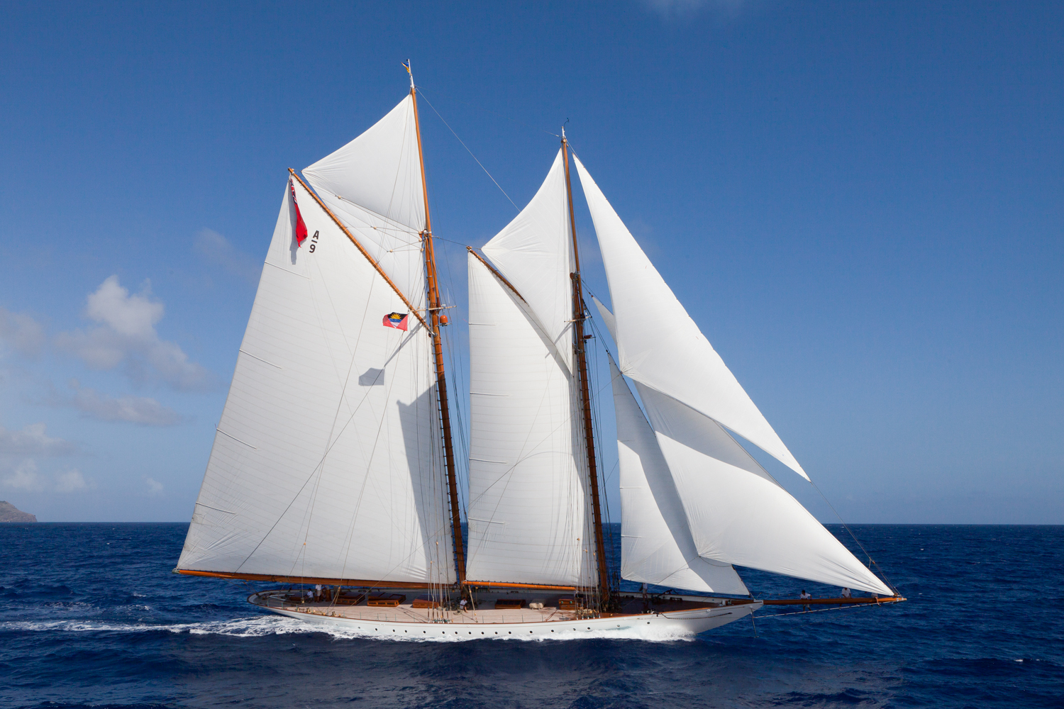A Classic Sailing Yacht Charter With Turn of the Century Charm