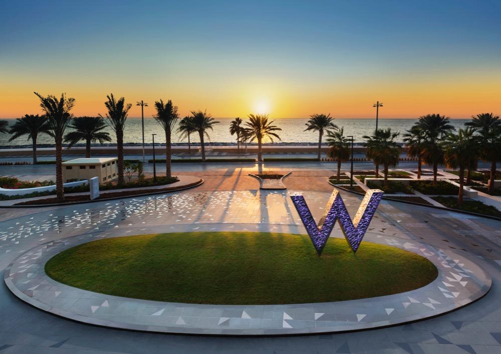 New To Dubai – W Dubai – The Palm