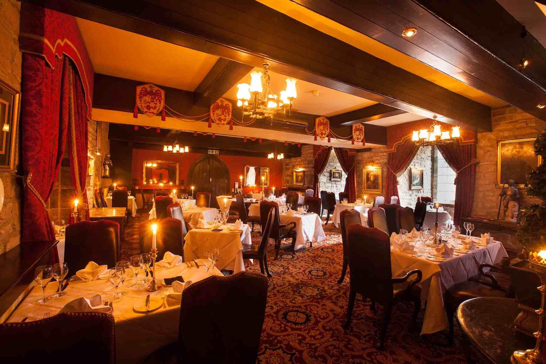 Josephine Restaurant at Langley Castle