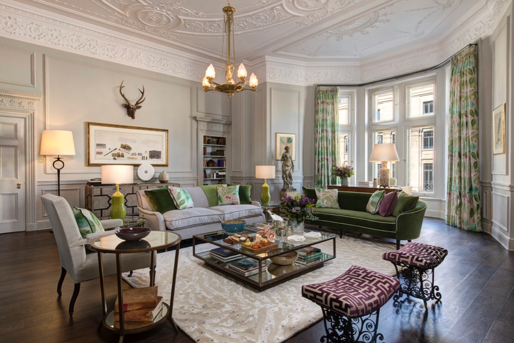The Balmoral Hotel's New Glamis Suite