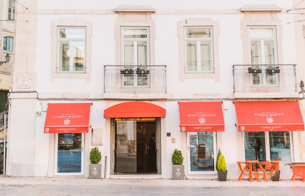 Corpo Santo, the Chic, historical hotel in Lisbon?s buzzy Cais do Sodré